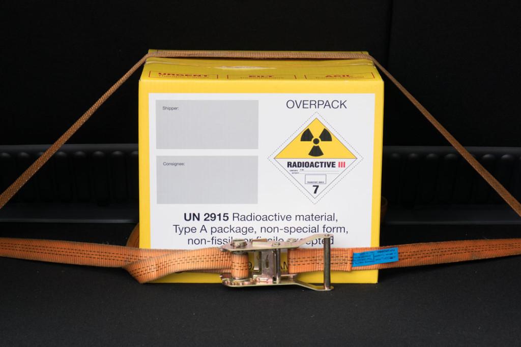 fachgrechter Transport radioaktiver Stoffe