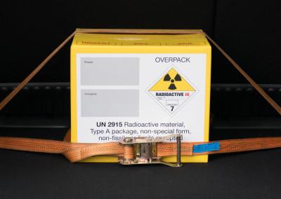 Transport radioaktiver Stoffe